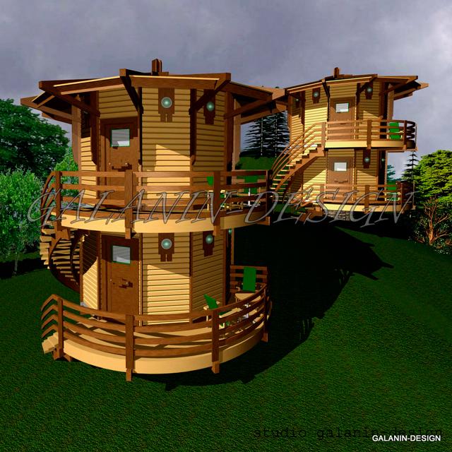 домики для отдыхающих проекты фото