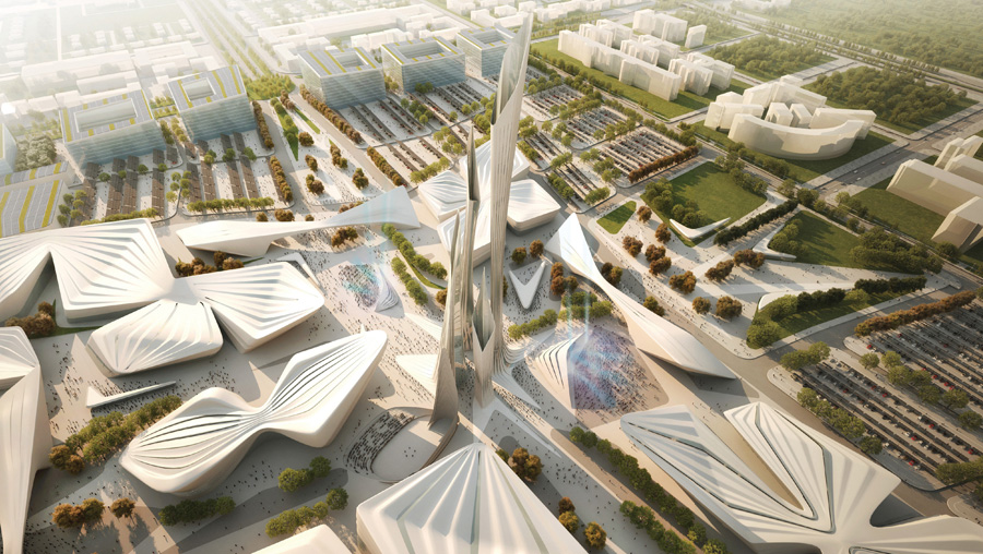 Проект Zaha Hadid Architects (UK)