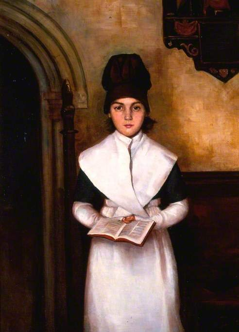 A Pupil of Green Girl's School, Reading (1898) — Annie Margaret Bradley