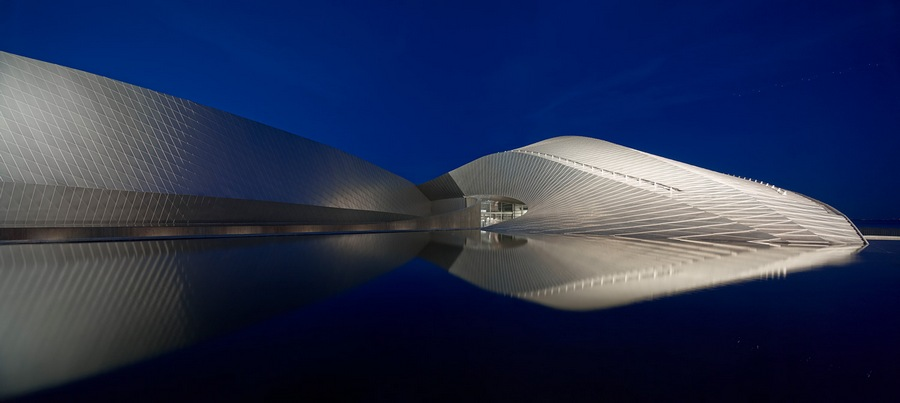 Shortlisted: Adam Mork. Exterior. Project: The Blue Planet (DENMARK) by 3XN