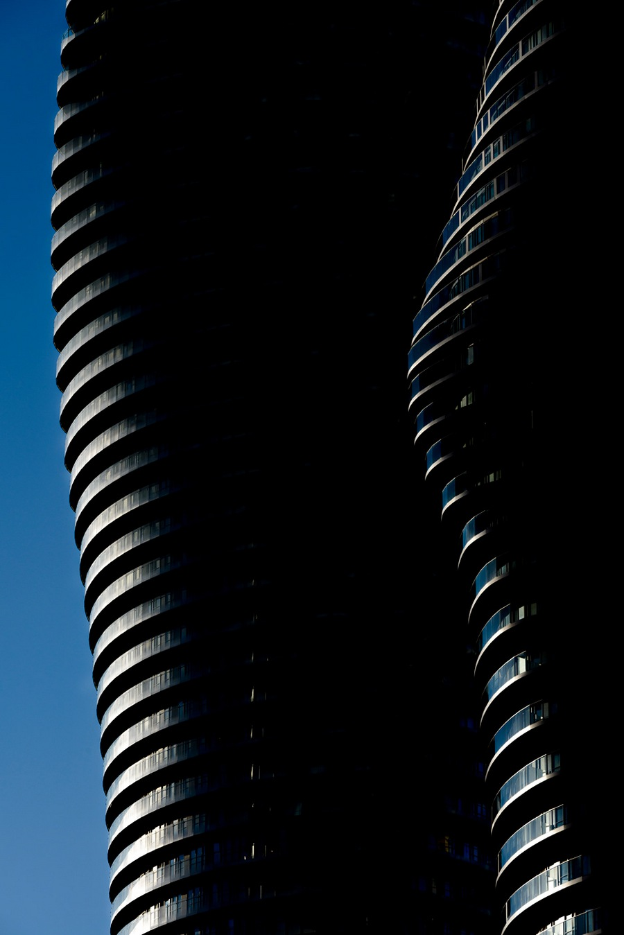 Shortlisted: Large + Bounhar. Exteriors. Project: Absolute Towers (CANADA) by MAD Architects