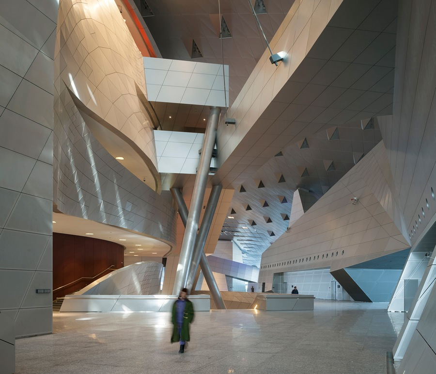 Duccio Malagamba. Interior. Project: Dalian Congress Centre (CHINA) by Coop Himmelb(l)au Architects