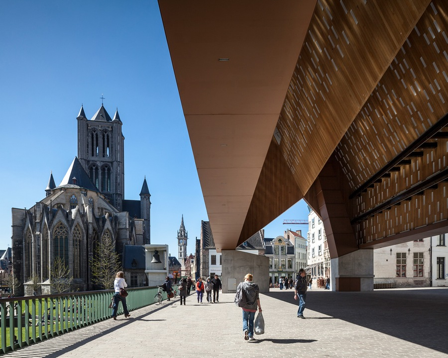 Shortlisted: Tim Van De Velde. Building in Use. Project: Market Hall, Ghent (BELGIUM) by Marie-Joseé Hee and Robbrecht & Daem Architects