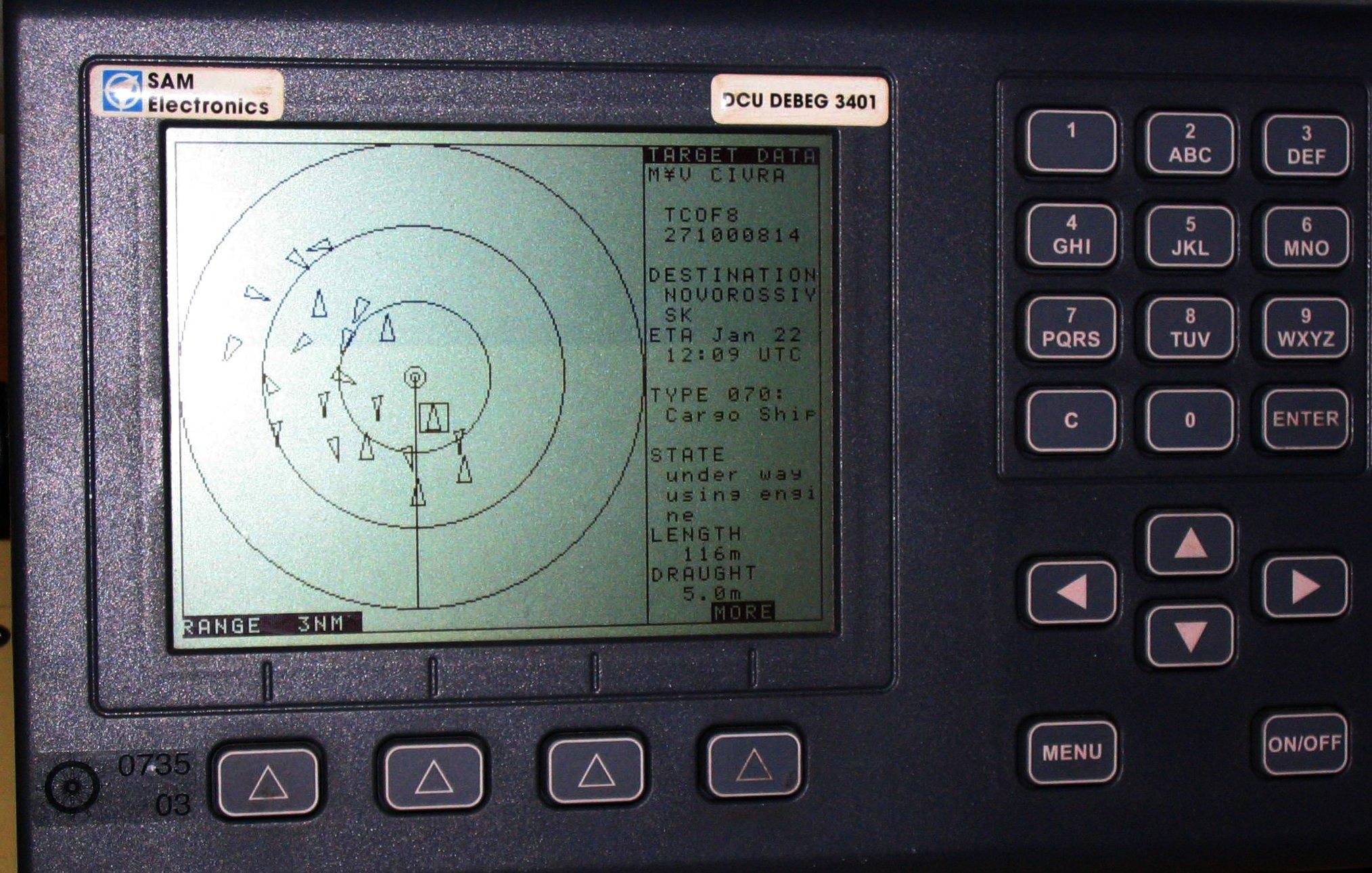АИС (Aвтоматическая идентификационная система) служащая в судоходстве для идентификации судов, их габаритов, курса и других данных. Не будет работать во время солнечного супершторма