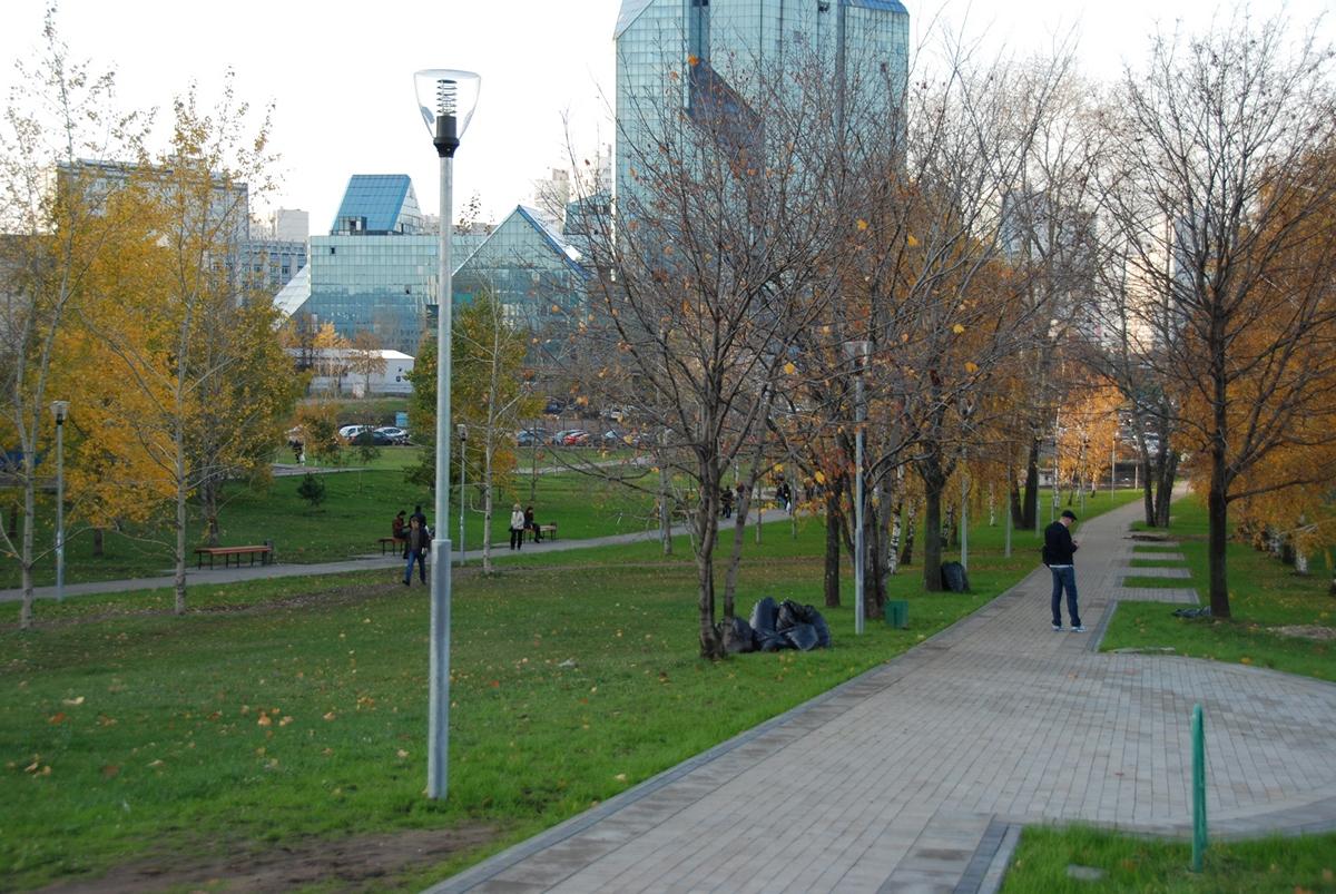 Москва, Семеновский парк. Alfresco, светильники «Рейн»