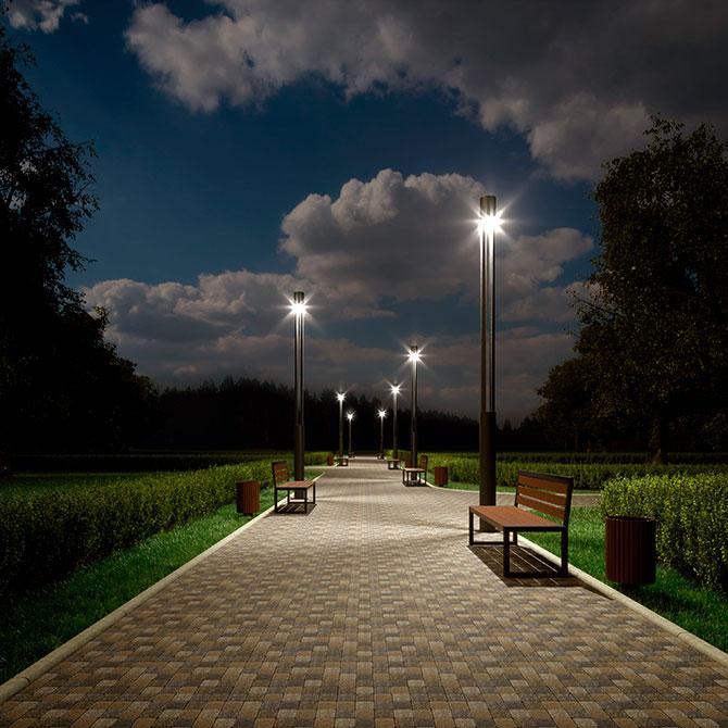 Купить уличное освещение в Москве, сравнить цены