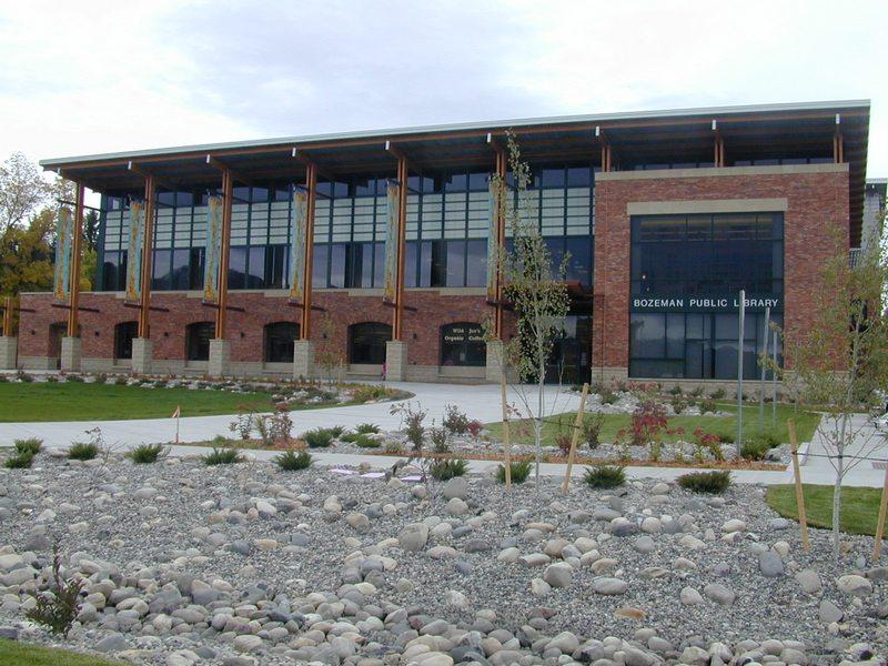 Публичная библиотека г. Бозмен (Bozeman Public Library).