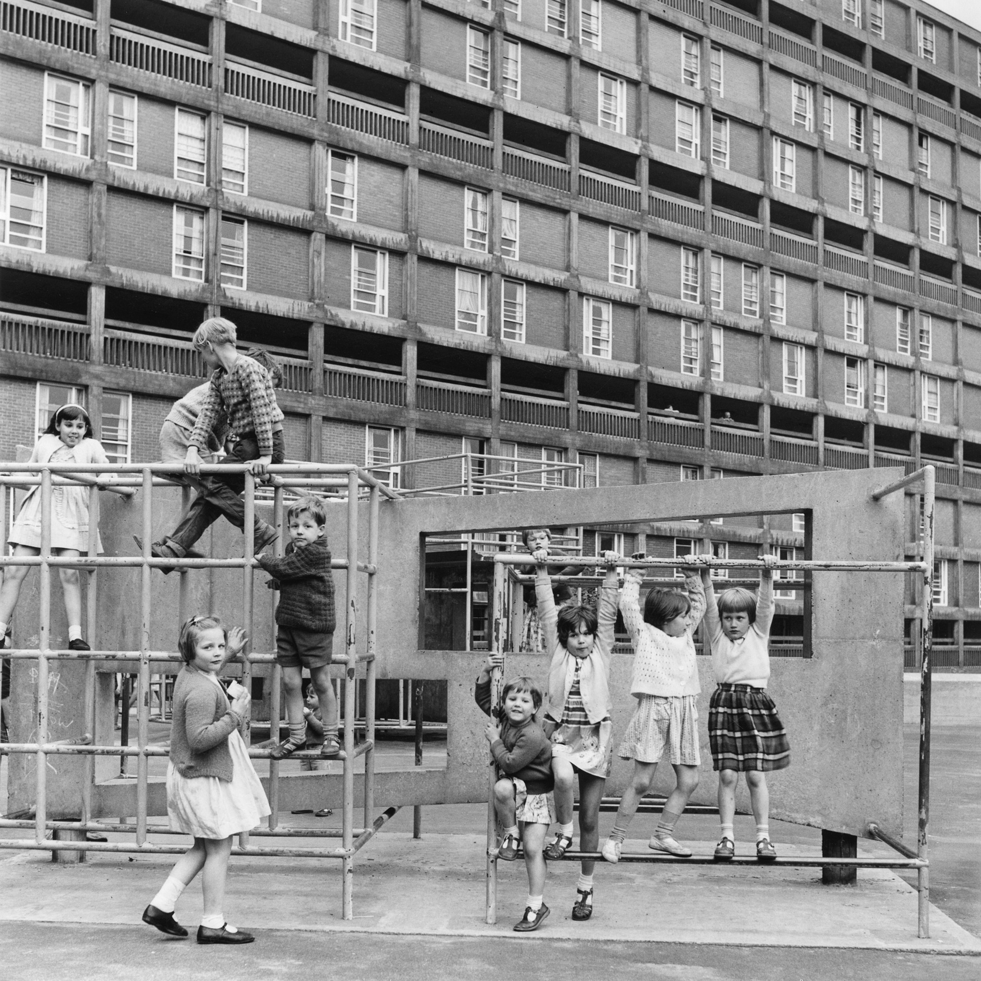 Park Hill estate, Sheffield, 1963