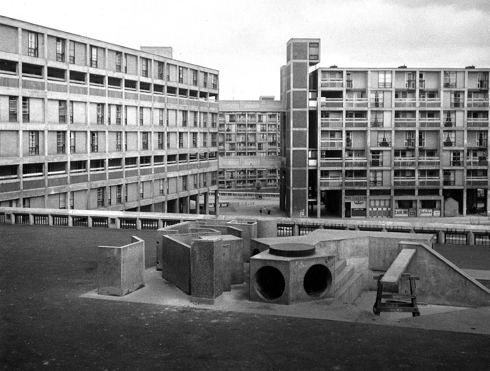 Park Hill estate, Sheffield, 1962