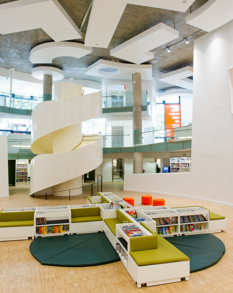 Библиотека Клапам (Clapam Library).