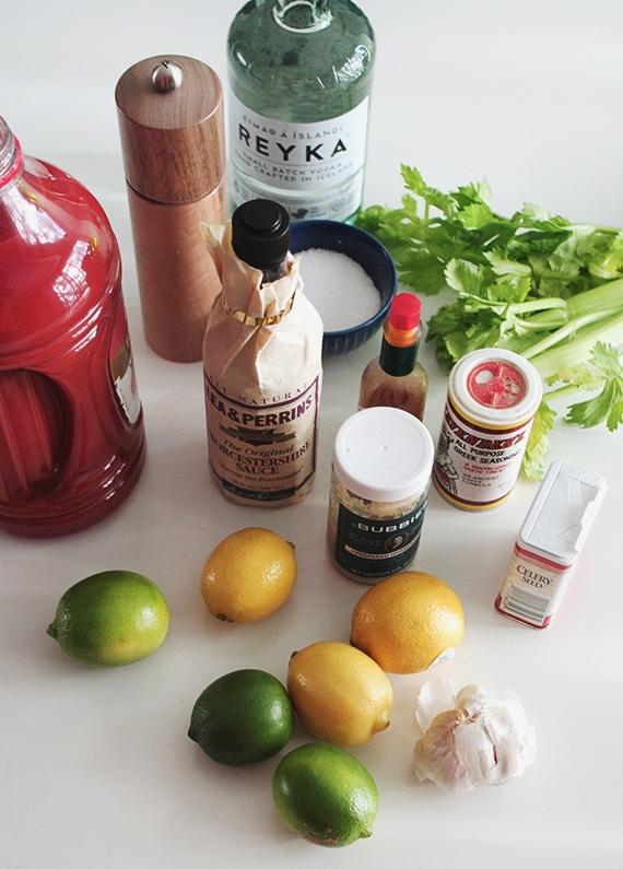 Набор смесей для приготовления коктейля Кровавая Мэри