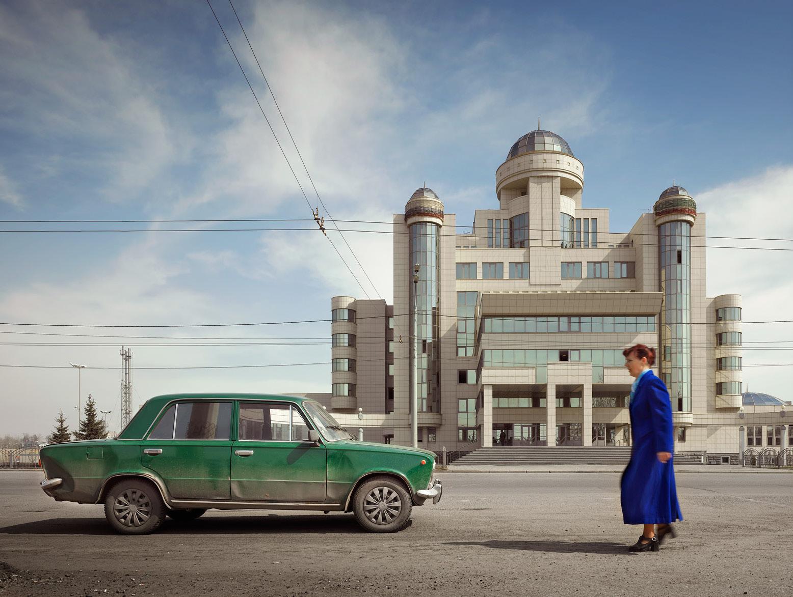 Управление ГИБДД МВД по Республике Татарстан в Казани, 2005 год.