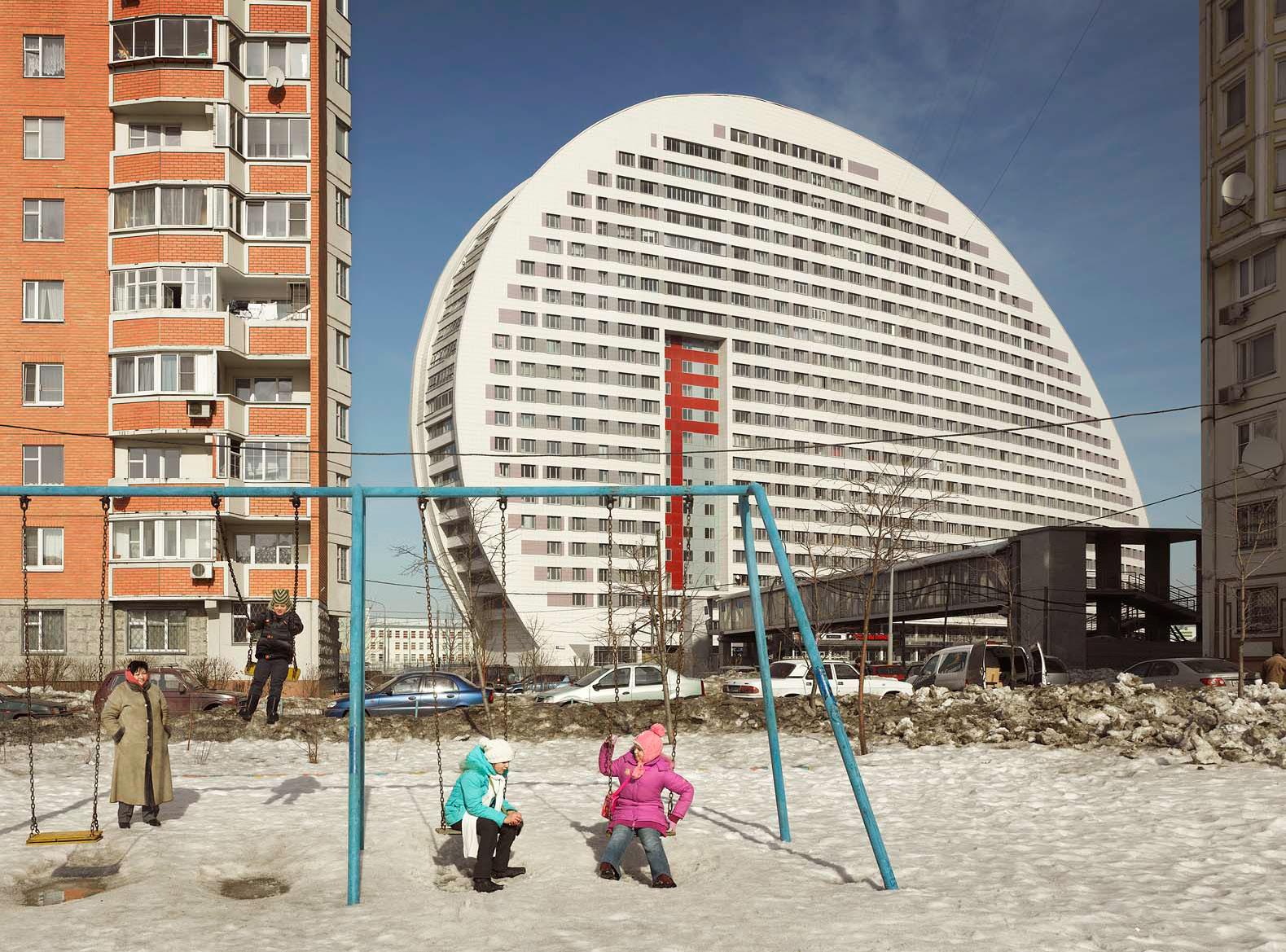 Жилой дом «Парус» в Москве, 2007 год.