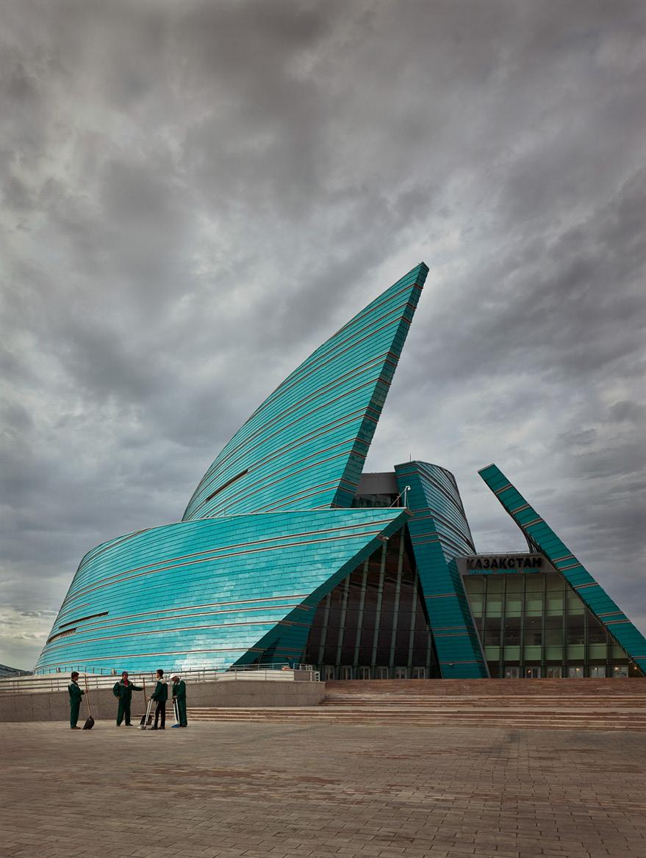 Центральный концертный зал «Казахстан» в Астане, 2010 год