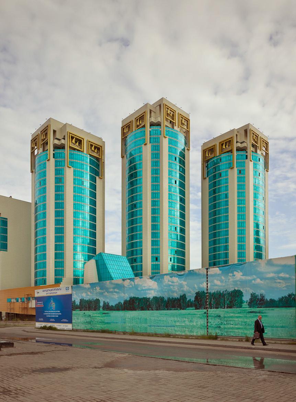 Жилой комплекс «Лазурный квартал» в Астане, строительство начато в 2006 году