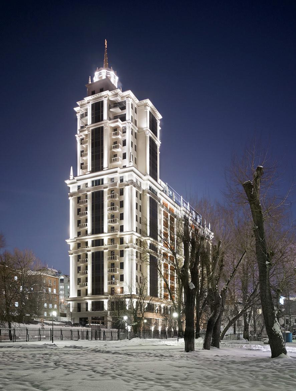 Жилой комплекс «Имперский дом» в Москве, 2010 год