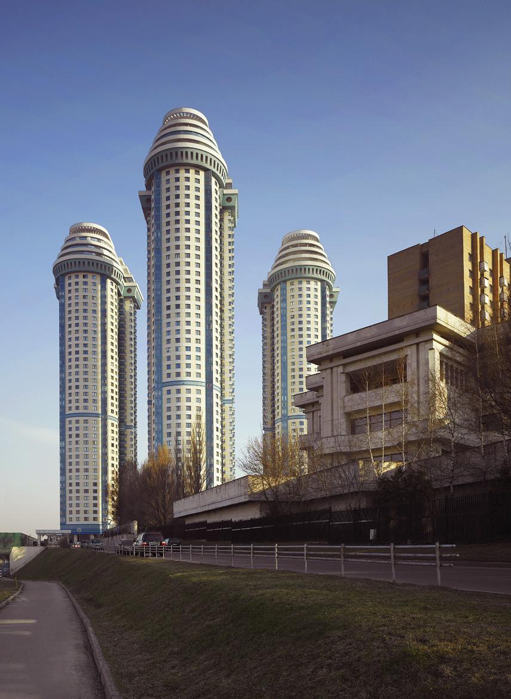 Жилой комплекс «Воробьевы горы» в Москве, 2005 год