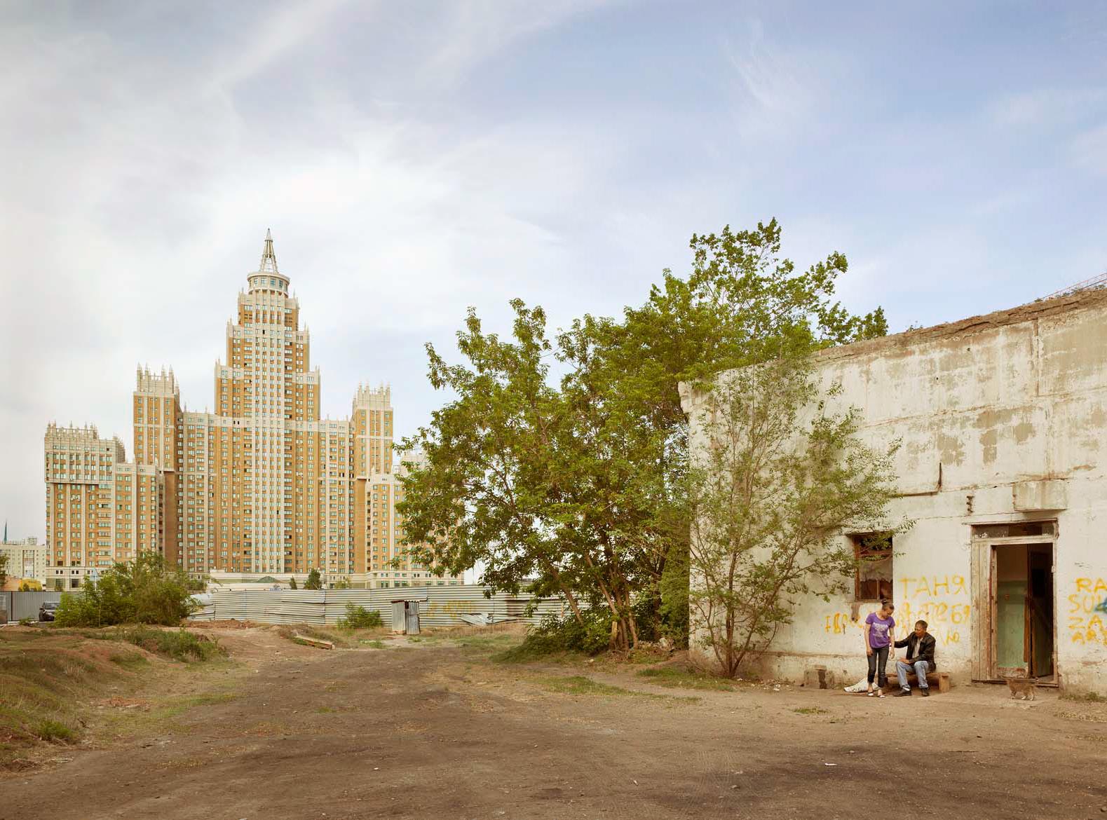 Жилой комплекс «Триумф Астаны», 2006 год