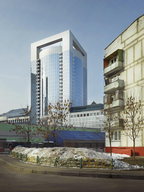 Бизнес-центр «Северная башня» в «Москва-Сити», 2008 год