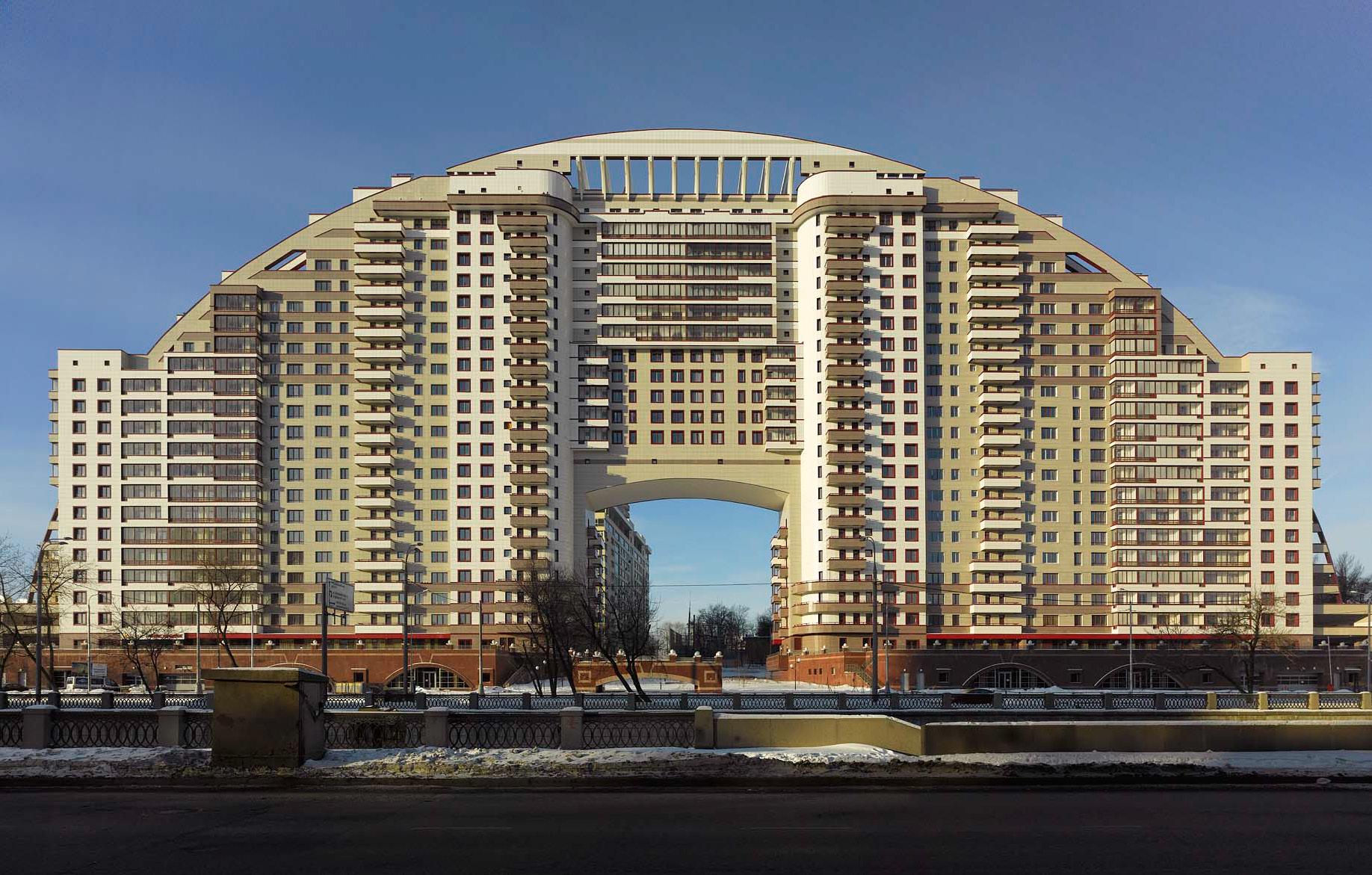Жилой комплекс «Солнечная Арка» в Москве, 2009 год