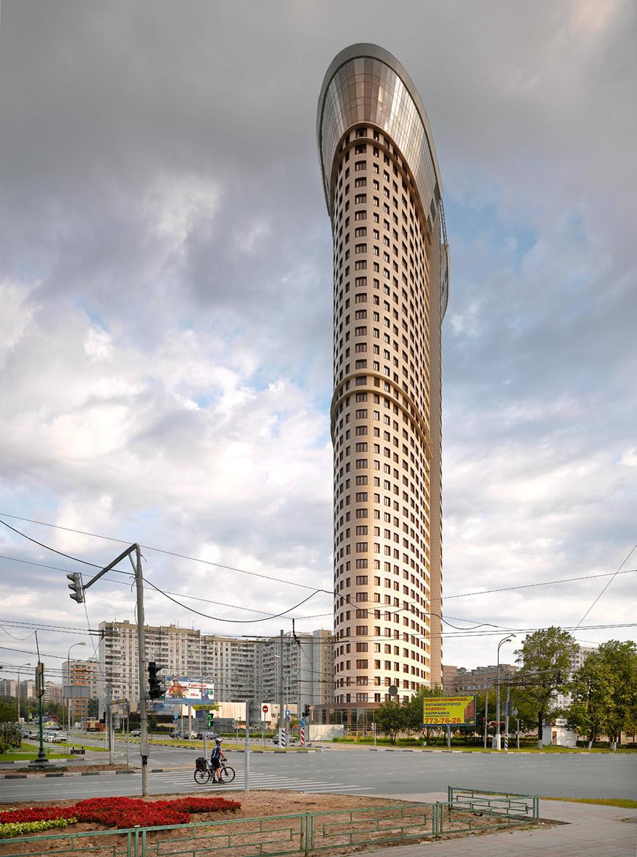 Жилой комплекс «Дирижабль» в Москве, 2012 год