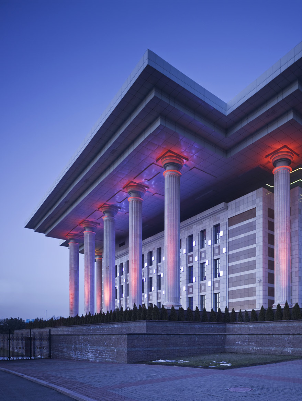 Президентский дворец в Алма-Ате, 2004 год