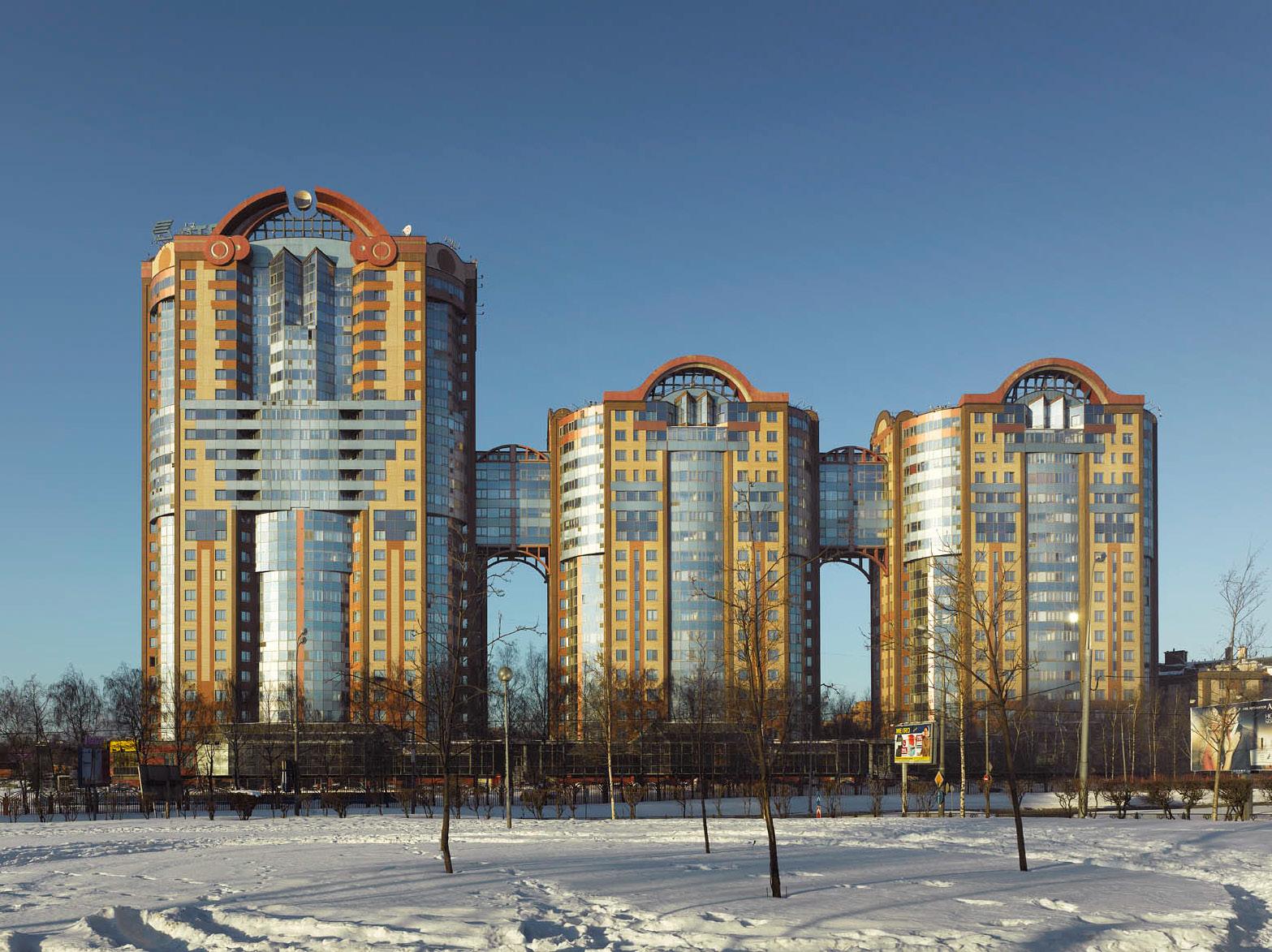 Жилой комплекс «Кунцево» в Москве.