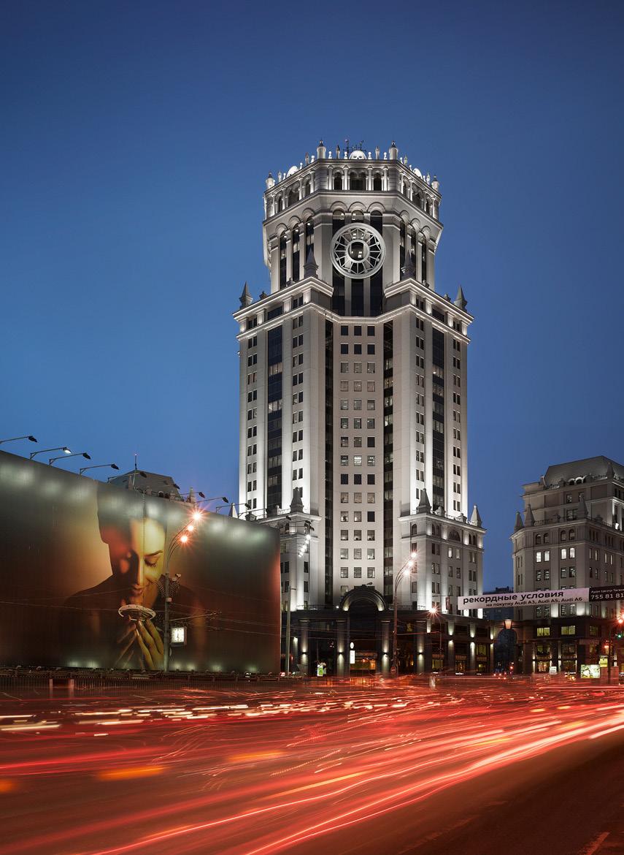 Бизнес-центр «Павелецкая плаза» в Москве.