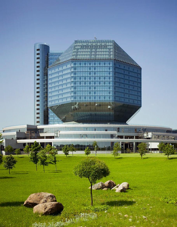Национальная библиотека Республики Беларусь в Минске, 2011 год.