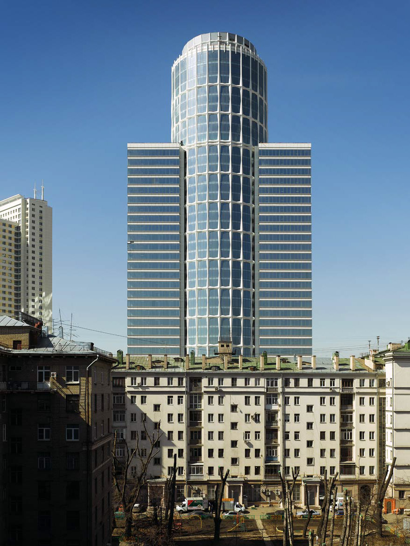 Бизнес-центр Нордстар Тауэр (Nordstar Tower) в Москве. 2010 год.