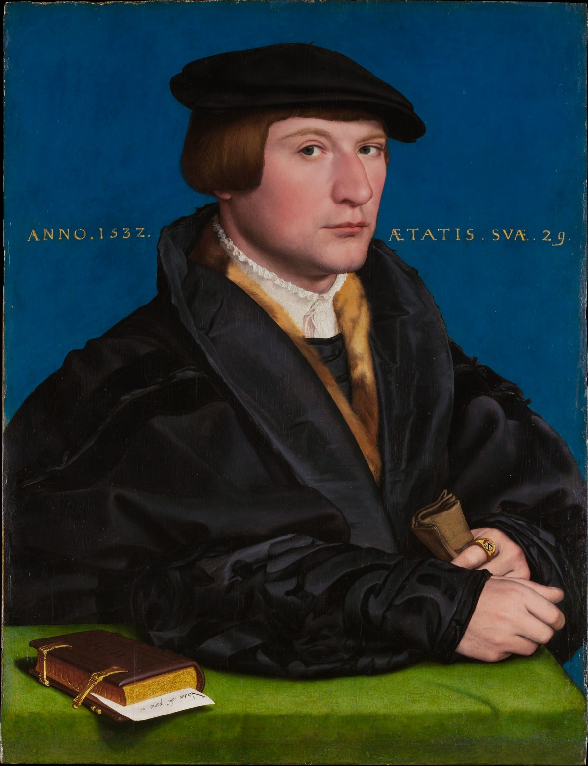 Portrait of a Member of the Wedigh Family, Probably Hermann von Wedigh (died 1560) / Hans Holbein the Younger / 1532