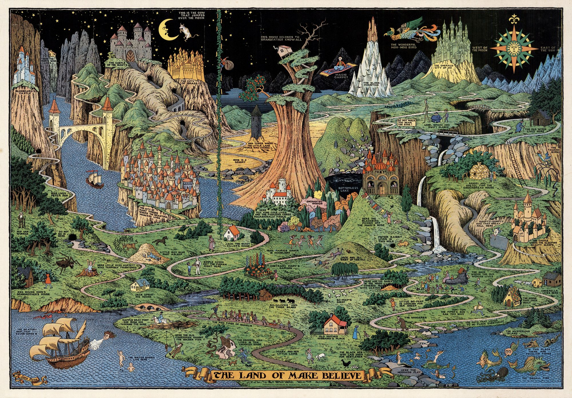 The Land of Make Believe by Jaro Hess, 1930