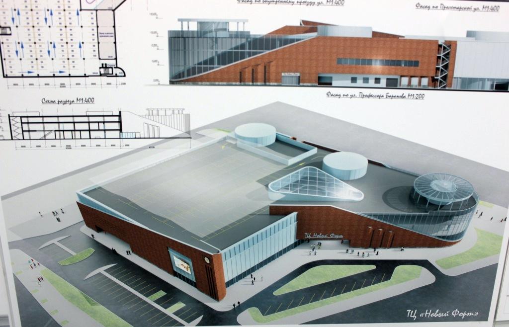 Первое место. Проект «Новый форт» архитектора Яна Бородина (ОАО «КБ ВиПС») из Санкт-Петербурга