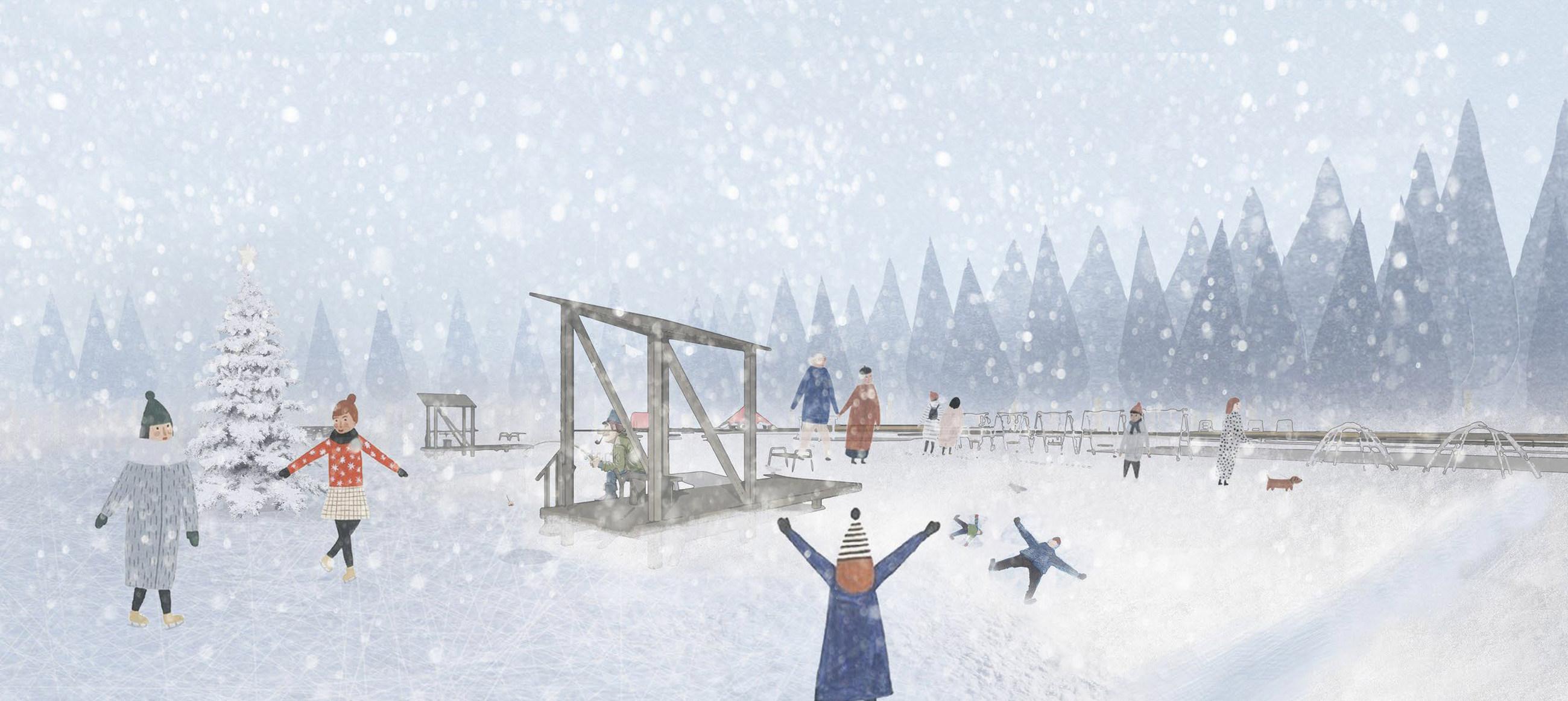 Конкурс благоустройства рекреационной зоны «ЛЕСНАЯ» в ЗАТО Заречный. Архитектурное бюро «МЕГАБУДКА» (Москва)