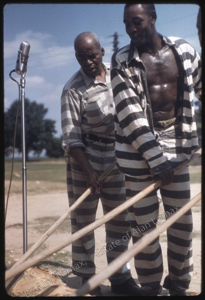 Запись песни заключенных в штате Миссисипи (Mississippi State Penitentiary, Parchman Farm, 1959)