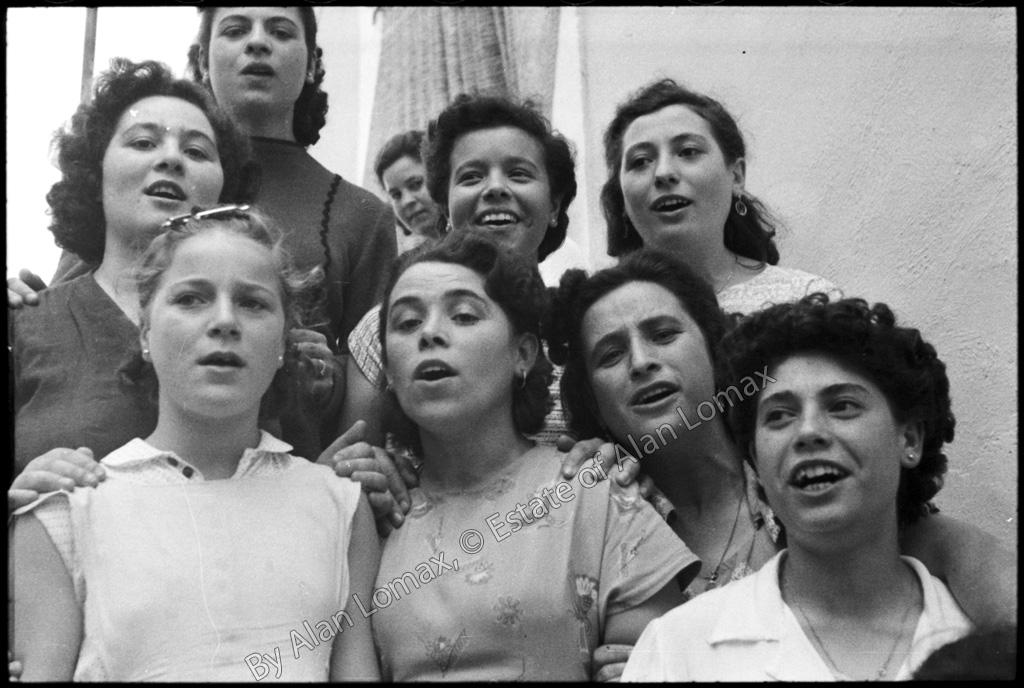 Запись поющих женщин (Италия, 1954)