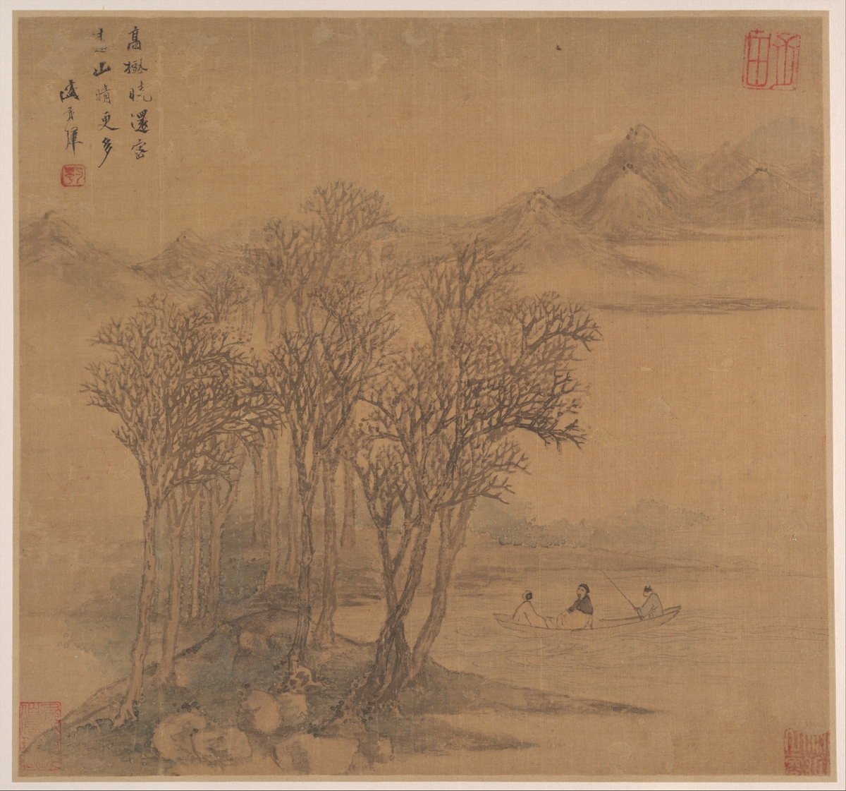 Landscapes after Tang Poems / Sheng Maoye / mid 17th century