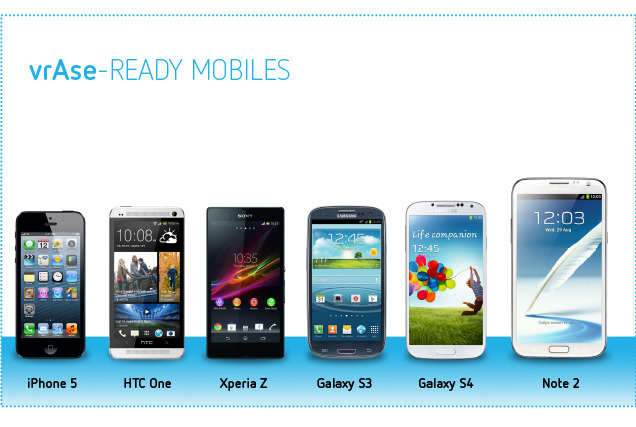 iPhone 5, HTC One, Xperia Z, Galaxy S3, Galaxy S4 и Galaxy Note 2