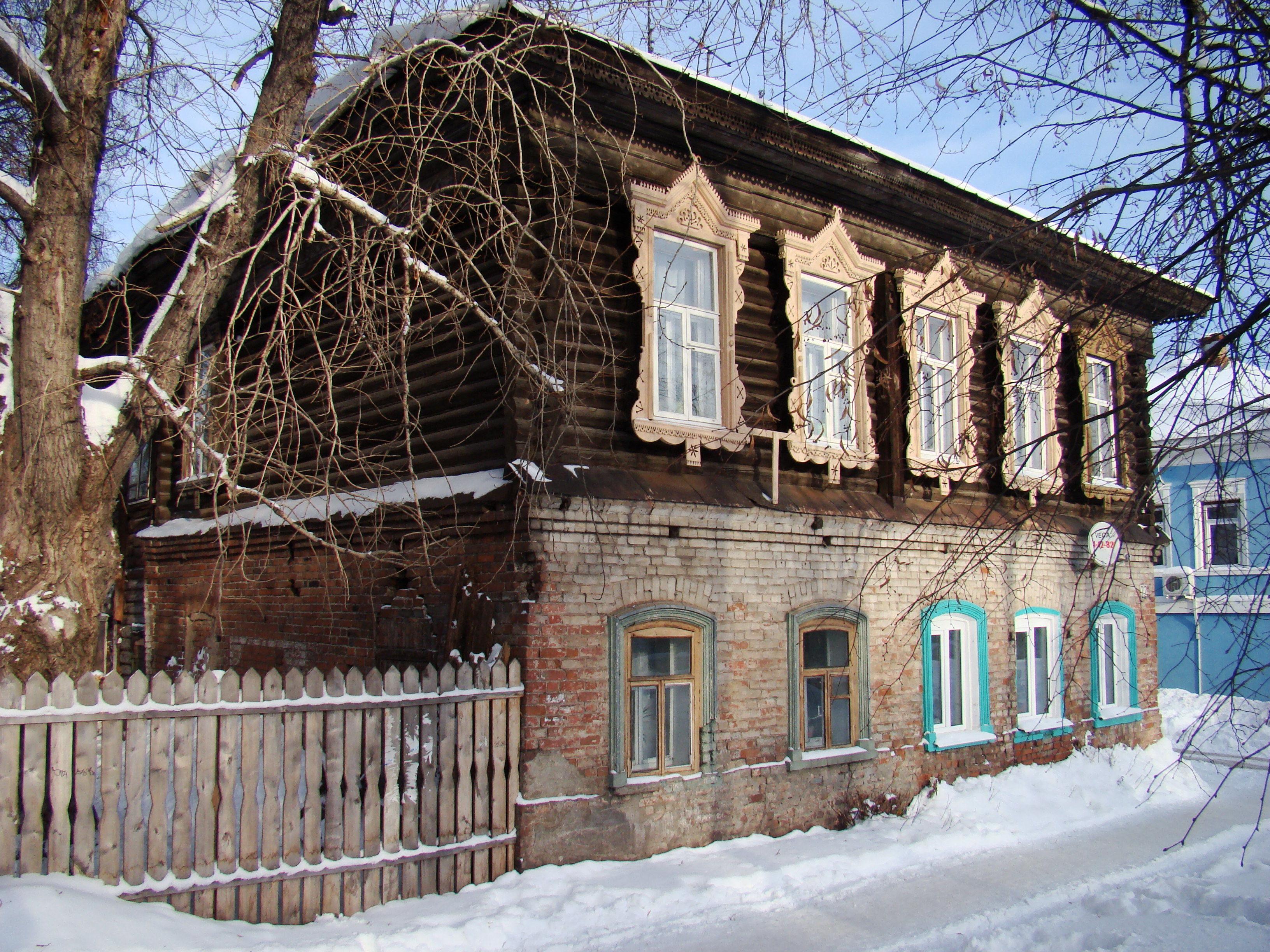 Сарапул, ул. Советская, 22. Дом лесопромышленника Николая Агафоновича Лябова