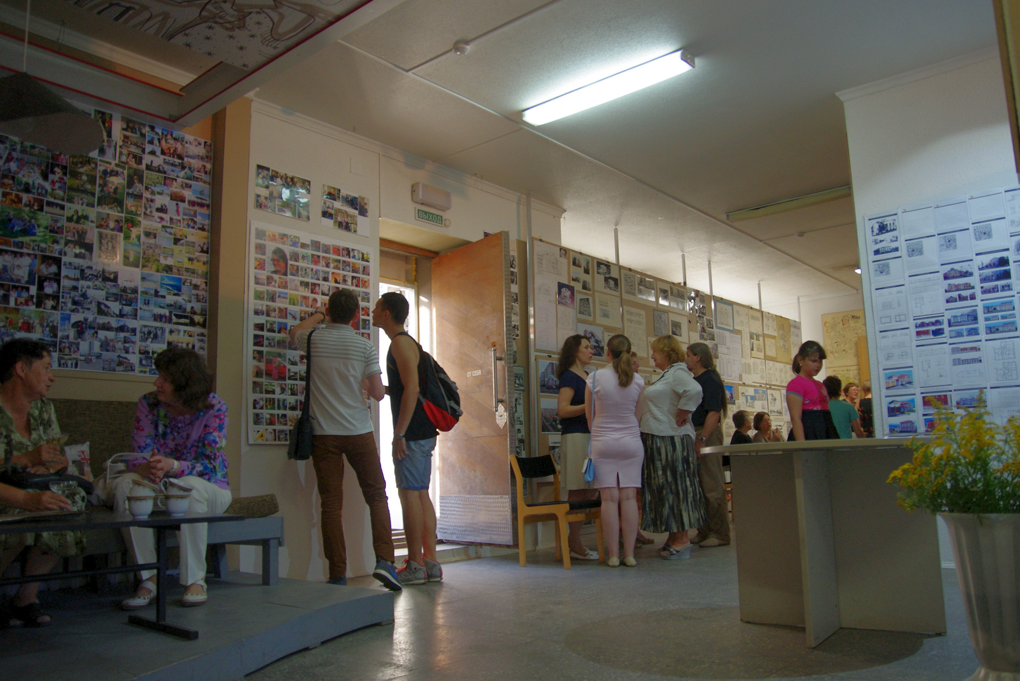 выставка Заслуженного архитектора Удмуртской Республики Нины Евгеньевны Степанюк, Ижевск, 2016
