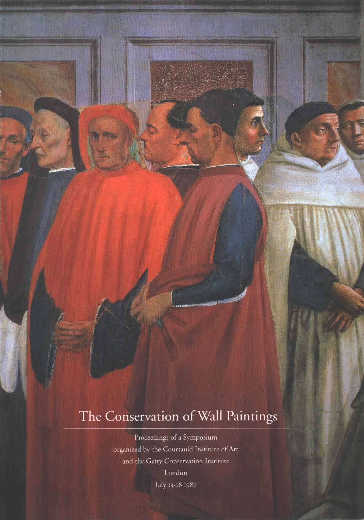 The Conservation of Wall Paintings  Sharon Cather, Editor  1991