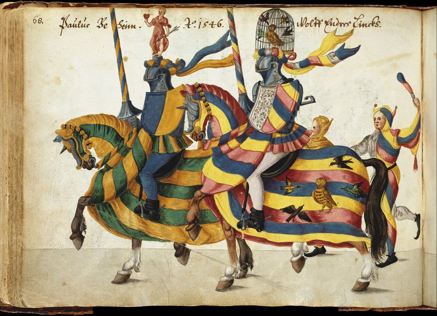 From Album of Tournaments and Parades in Nuremberg / late 16th–mid-17th century