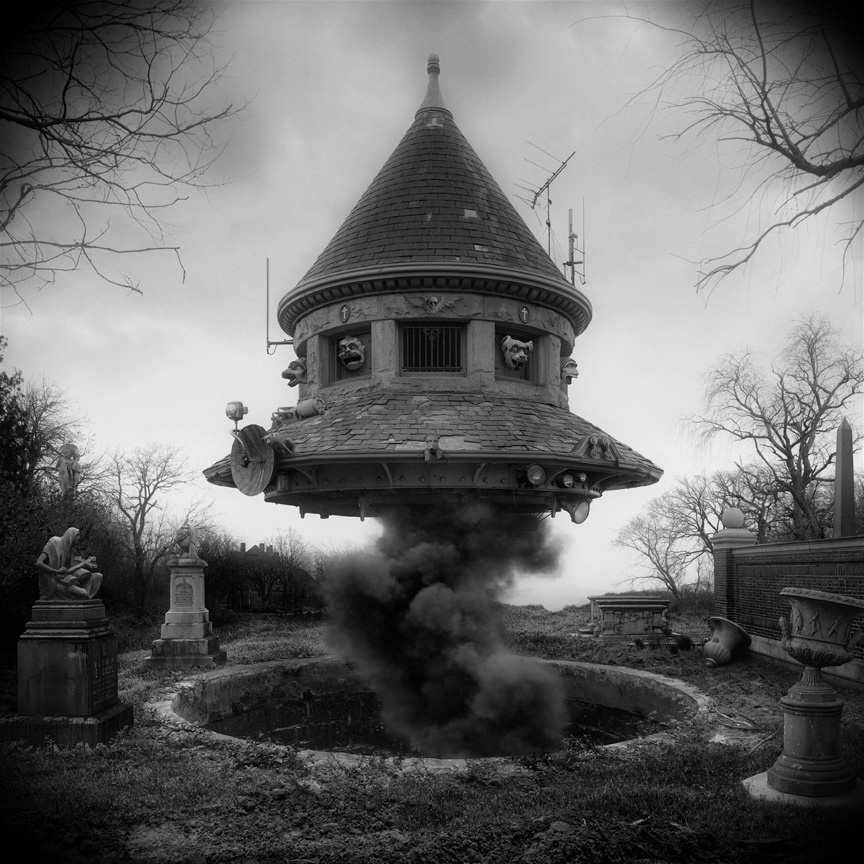 Jim Kazanjian. Untitled (ufo)