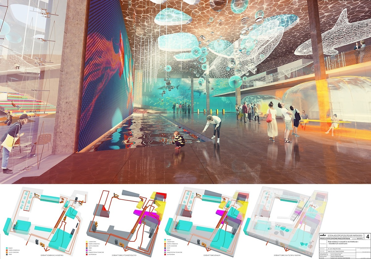 Maja Wrońska. Leisure and education in architecture – Warsaw Aquarium