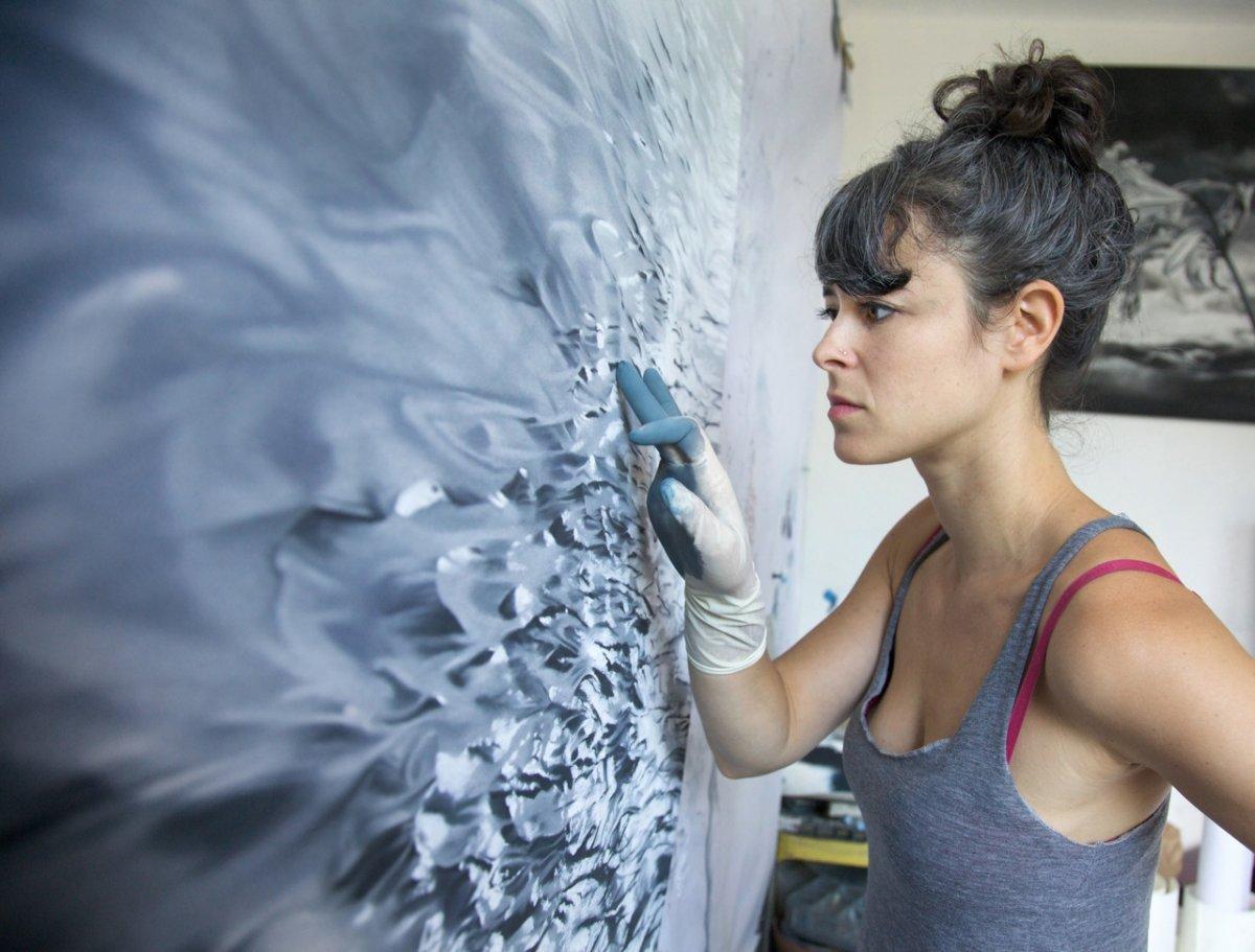 Художница Зария Форман нарисовала эти невероятно реалистичные картины после путешествия в Гренландию