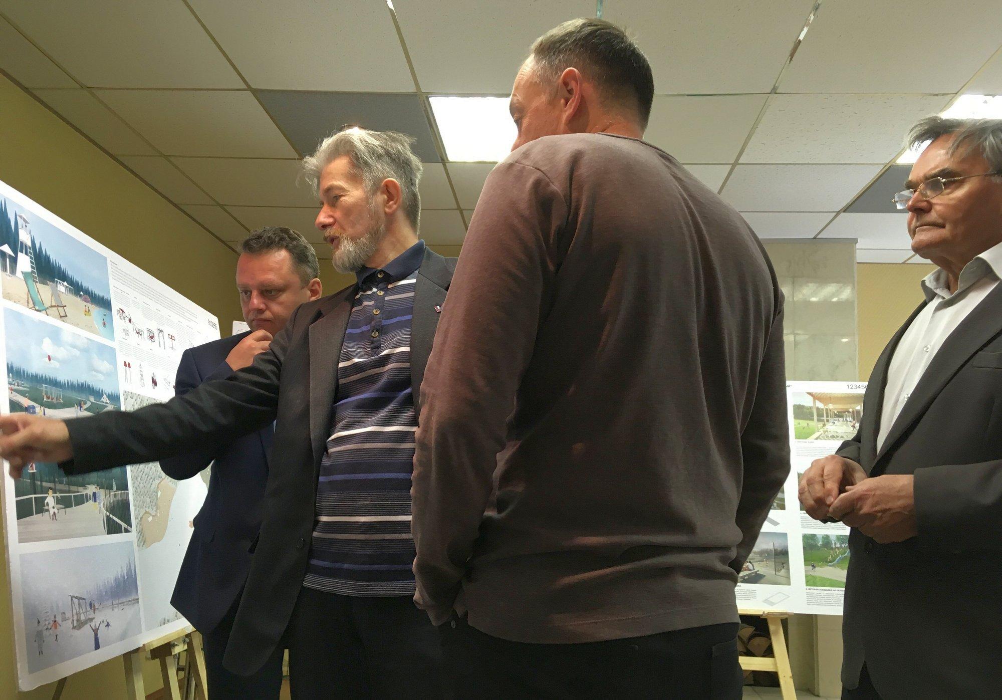 Заседание жюри конкурса концепций благоустройства рекреационной зоны «ЛЕСНАЯ» в ЗАТО Заречный, Пензенская область.