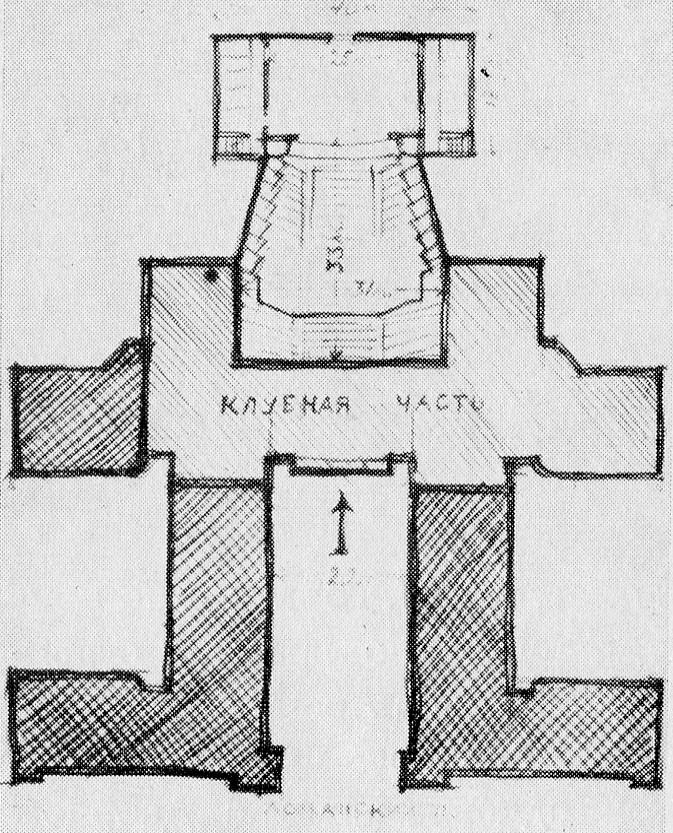 План-схема Дворца культуры