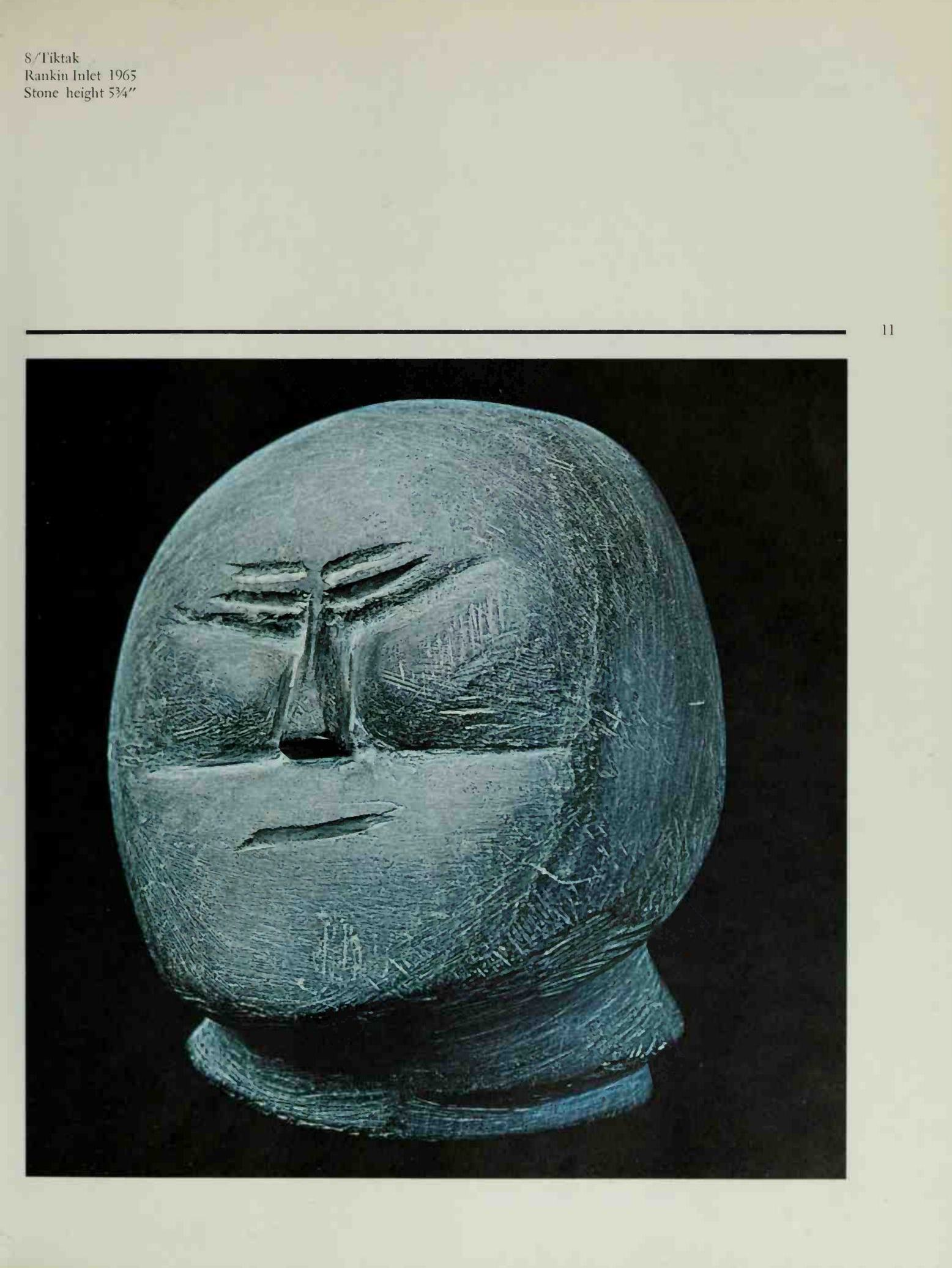 Sculpture of the Escimo / George Swinton. — Greenwich, Connecticut : New York Graphic Society, 1972