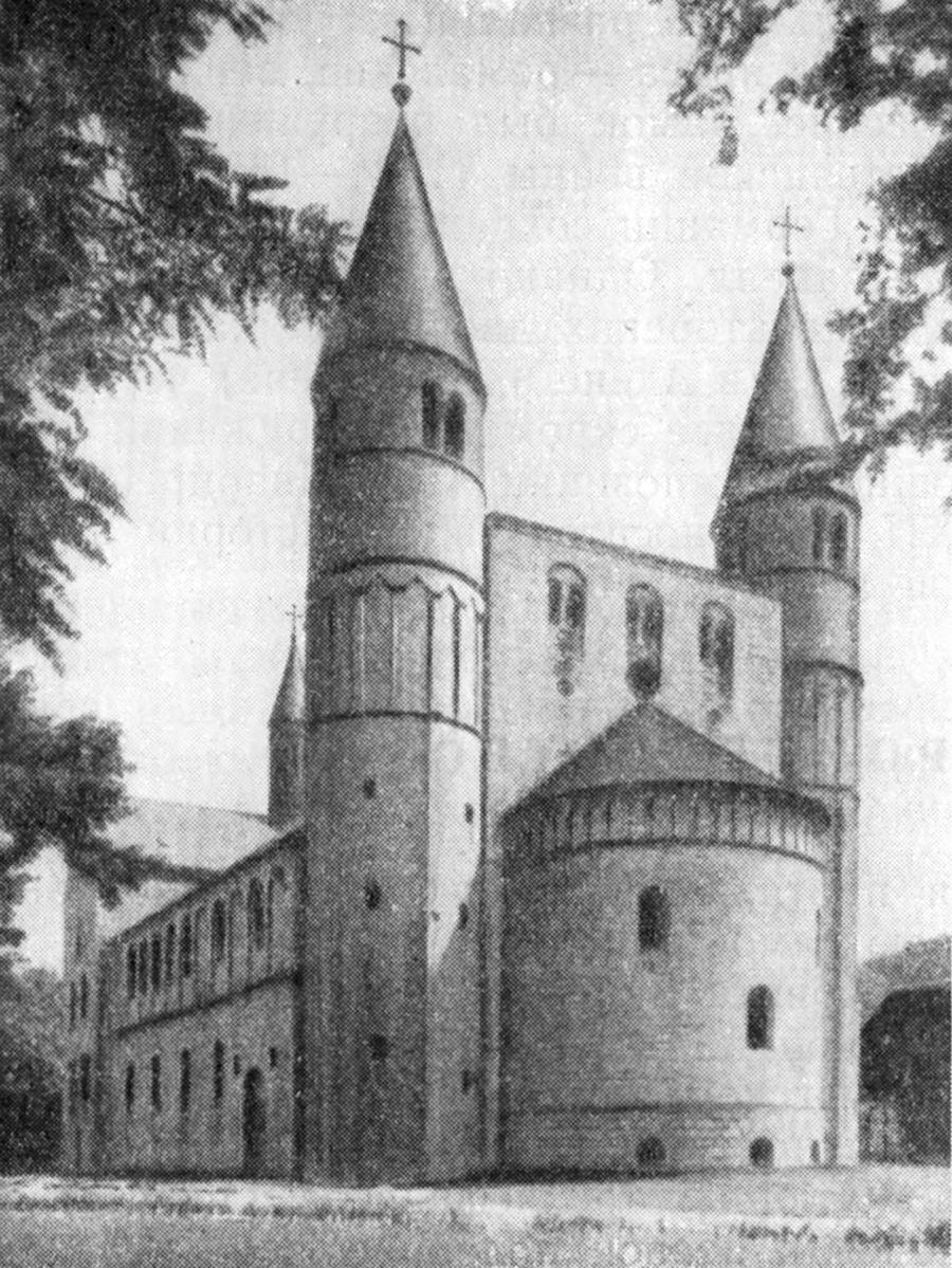 основные термины готической архитектуры схема