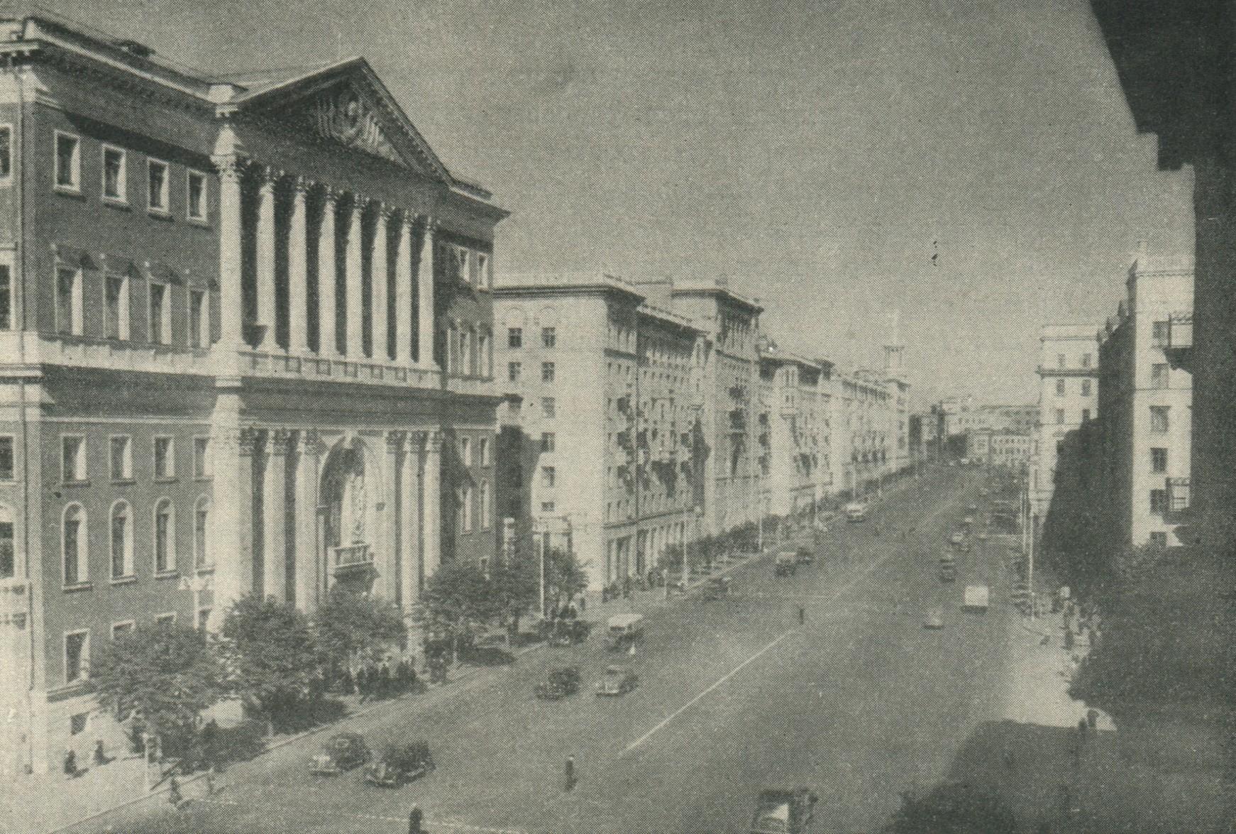 9ee8e8070b18 Москва. Улица Горького после реконструкции